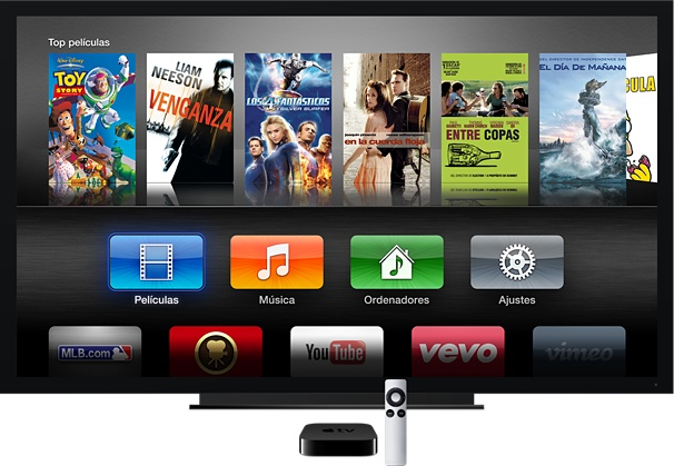 Apple TV para iPad