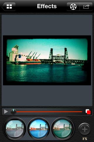 CinemaFX para iPad
