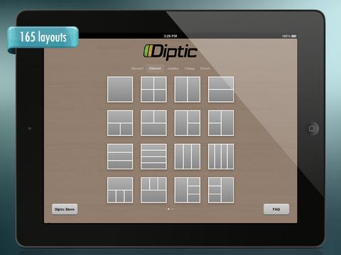 Diptic iPad