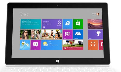 Windows 8 en Surface Pro