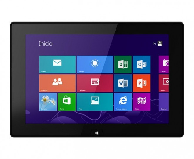 bq tablet Windows 8