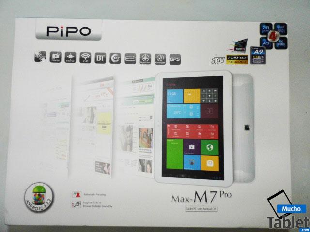 caja del tablet Pipo M7 Pro