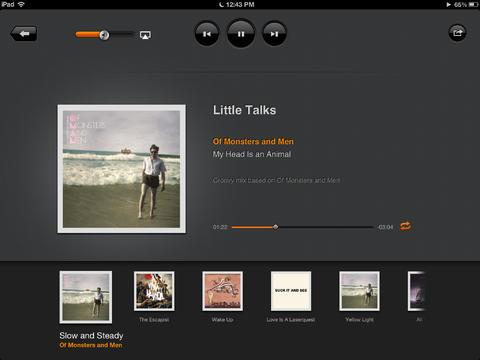 Groove iPad