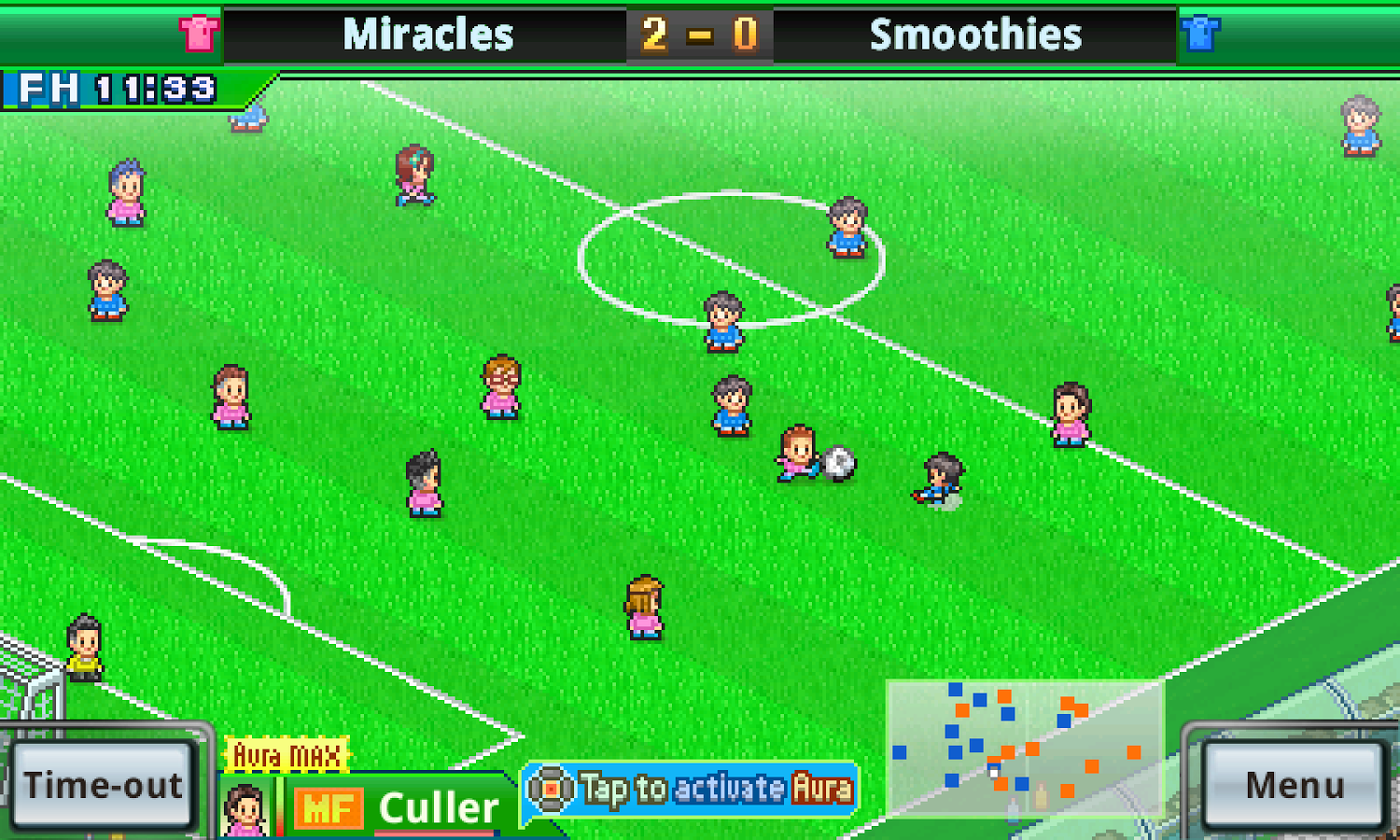 Pocket League Story 2 tablet