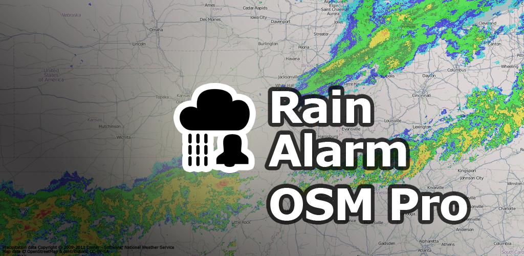 alarma de lluvia osm pro