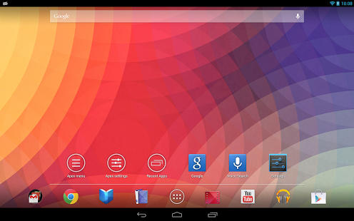 apex launcher tablet