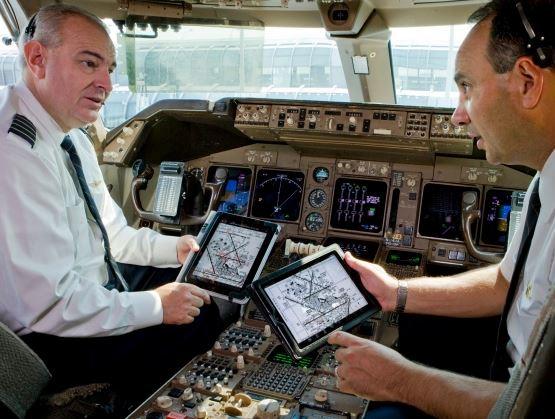 iPad en aviones