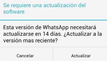 Whatsapp 14 días