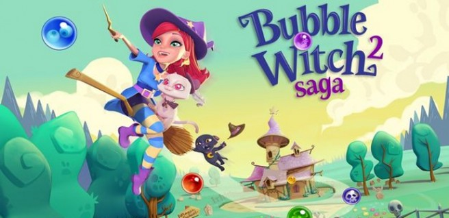 juegos gratis para android bubble witch saga 2