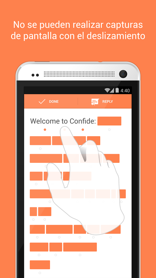 confide android