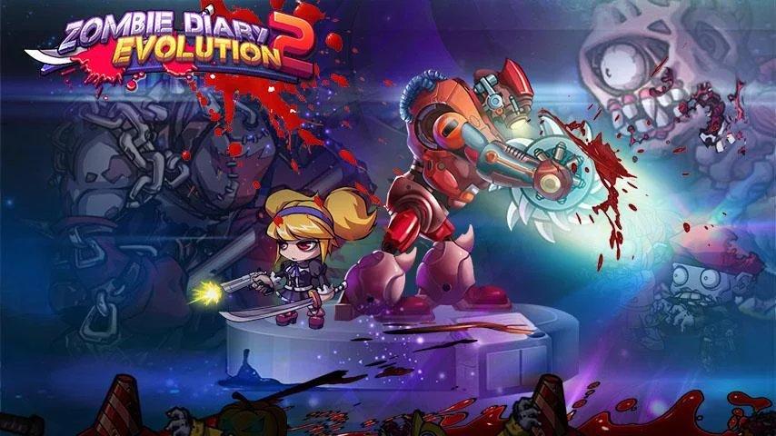 juegos gratis para android zombie diary 2