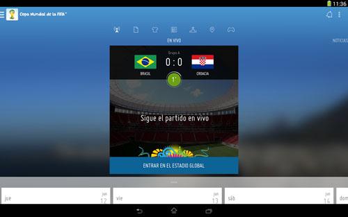mundial brasil 2014 aplicaciones