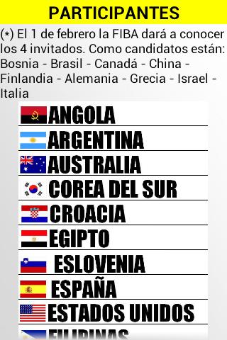 mundial baloncesto españa 2014