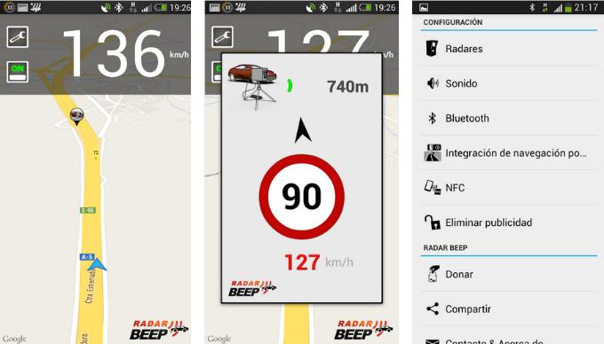Detector de radares en tu Android