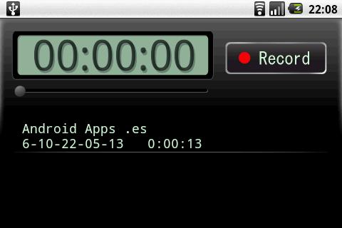 grabar sonidos en android