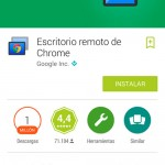 chrome controlar tu ordenador android tablet
