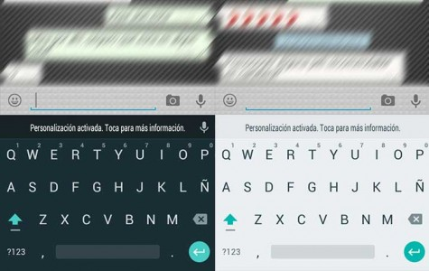 teclado lollipop 5.0 android