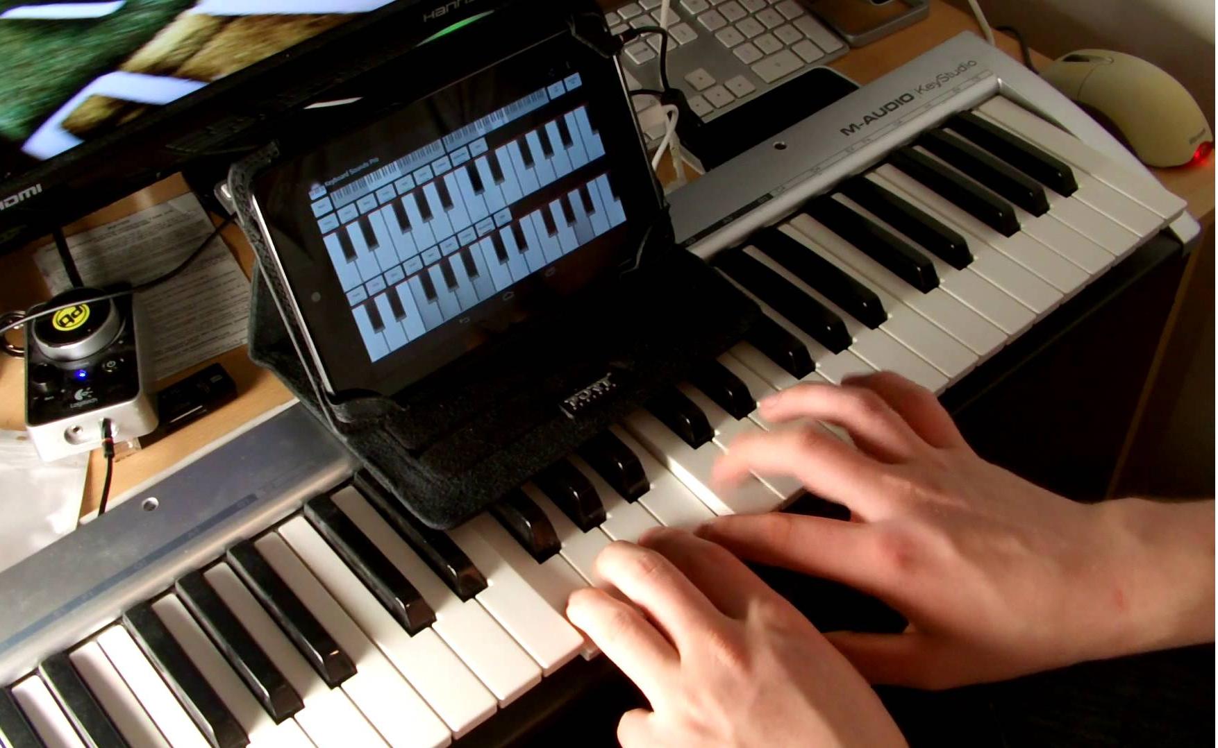 aplicaciones para crear musica tablet android smartphone
